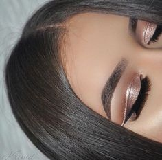 "expensivetastexox: "" @krimd "" Kardashian sleek middle part hair tutorial"