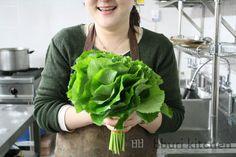 10 Korean spring greens you should know · bburi kitchen Korean Vegetables, Healthy Vegetables, Korean Grocery, Korean Food, Korean Recipes, Food Test, Spring Green, Lettuce, Cabbage