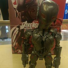 """""""Ultron headknocker by Hot Toys in store now and on our depop shop no strings attached !"""" Photo taken by @diversionsgifts.co.uk on Instagram, pinned via the InstaPin iOS App! http://www.instapinapp.com (06/30/2015)"""