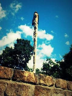 Tungkot Tunggal Panaluan (Bataknese Magic Wand) ~ Taken at the Cemetary of Batak Kings, Samosir Island, Toba, North Sumatra