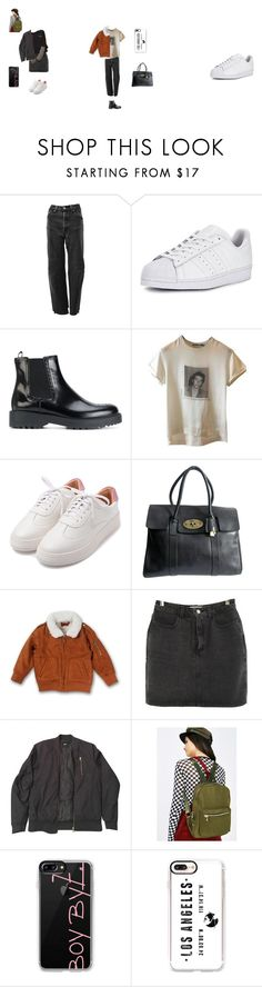 """B.B-"" by nicole-hernandez-vi on Polyvore featuring moda, Levi's, adidas Originals, Prada, Dolce&Gabbana, Mulberry, Haus of JR, American Apparel, ASOS y 3 AM Imports"