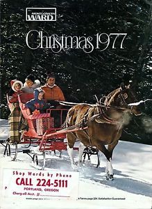 Montgomery Ward Christmas Catalog Wish Book Cover 1977
