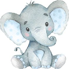 Shop Blue Elephant Baby Boy Shower Sprinkle Birthday Square Paper Coaster created by ViolinEvents. Baby Elephant Drawing, Baby Elephant Nursery, Elephant Baby Showers, Elephant Drawings, Baby Animal Drawings, Elephant Print, Baby Elephant Images, Nursery Drawings, Elephant Watercolor