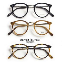 OLIVER PEOPLES/オリバーピープルズ/REEVES-P/ボストンコンビメガネ/度付きメガネ/伊達メガネ