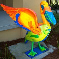 Pelicans - Pensacola, Florida