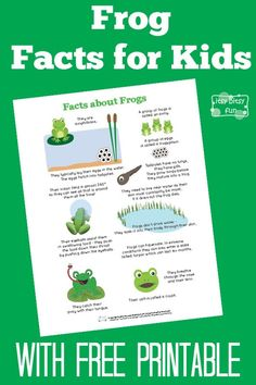 Fun Frog Facts for Kids