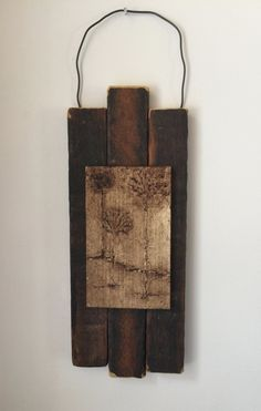 Rustic Nature Art, Primitive Decor, Trees, Natural, Neutral, Office, Home Decor, Country, Wedding Gift, Anniversary, Arbor, Reclaimed Wood