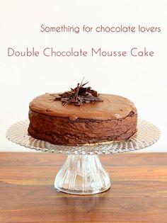 Diabetic Good Baking: Double Chocolate Mousse Cake