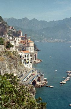 "explore-the-earth: "" Atrani, Italy "" Sorrento, Positano, Atrani Italy, Southern Europe, Travel And Leisure, Amalfi Coast, Far Away, Solo Travel, Paris Skyline"