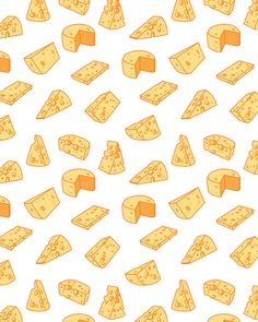 80% Off Sale Cheese pattern including seamless. Hand drawn cheese vector, vector graphics, digital clip art, digital images (EPS, JPG)