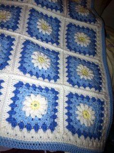 Crochet Afghan Squares   Love