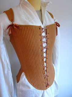 Elizabethan corset by redthreaded on Etsy