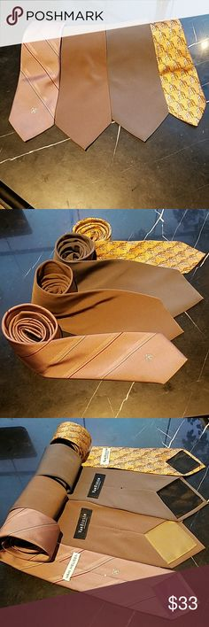 Vintage Van Heusen Necktie Collection Vintage Van Heusen Necktie Collection. 4 very nice vintage Van Heusen ties in excellent condition.  Remember vintage does not mean old and ugly these tires are very fashion-forward.. Van Heusen Accessories Ties