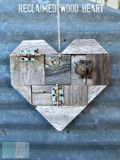 Industrial Reclaimed Wood Heart