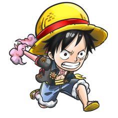 Chibi Luffy Zoro One Piece, One Piece Ace, Nico Robin, Kawaii Chibi, Anime Chibi, Digimon, One Piece Tattoos, Chibi Marvel, One Piece Series