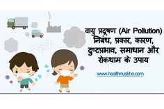 Air Pollution : Causes, Effects and Solution in Hindi   वायु प्रदूषण से कैसे बचे
