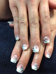 Danae's nails. Gel nail art.