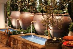 Tranquil Outdoor Water Fountains - Garden And Lawn Inspiration ...