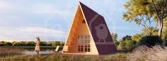 Camping Cabin TIPI 22.76m² + 5.14m² (4x7.45m)