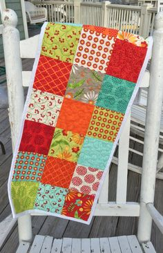 Quilted table runner Quilted table topper by TheQuiltedPillow, $40.00