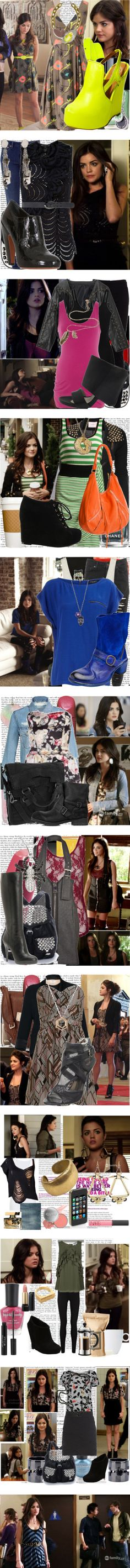 """aria montgomery style!"" by inezitacrazyforfashion ❤ liked on Polyvore"