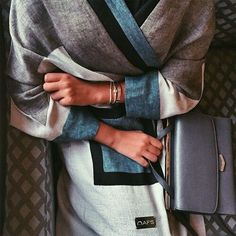Arab Swag   Nuriyah O. Martinez   awesome cool abaya, fashion, and style image......