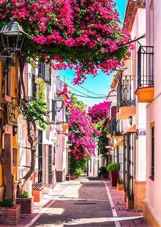 Photo via via Marbella Old Town, Menorca, Malaga Spain, Andalucia Spain, Alicante Spain, Places To Travel, Places To Visit, Places In Spain, Spain And Portugal