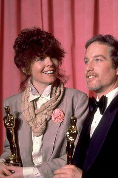 """El mejor actor y la mejor actriz en 1977 por sus actuciones en """"La chica del adios"""" y """" Annie Hall"""", reciben el Oscar en 1978."""