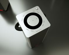 Design guide detailing and proportion- Bang & Olufsen BeoSound 3 by Nuno Braz, via Behance