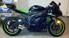 Kawasaki Ninja Lime Green Rim