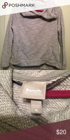 Bench gray sweatshirt Bench Gray sweatshirt! Gently used, super comfy!!!! Bench Tops