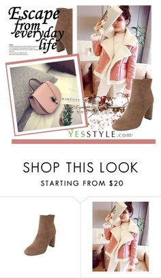 """YesStyle - 10% off coupon"" by selmina ❤ liked on Polyvore featuring DaBaGirl, Winter and yesstyle"