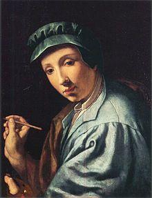 Alessandro Allori  /  Autoportrait .