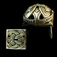 Antiques Antiquities Sporting Ancient Rare Viking Bronze Zoomorphic Belt Pendant Hitch 10-12 Century Ad