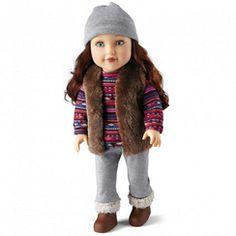 Newberry(TM/MC) Travel Girl 'Avery™' Fashion Doll
