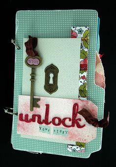 Mini Álbum Unlock your Story