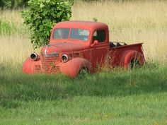 Old Plymouth truck.
