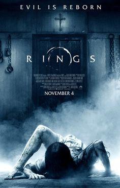 Rings [] [2016] [] http://www.imdb.com/title/tt0498381 [] [] [] official TV spot [61s] https://www.youtube.com/watch?v=vhdqYkXor5s [] [] [] official trailer [93s] https://www.youtube.com/watch?v=kOf7Ka6ztas [] [146s] https://www.youtube.com/watch?v=7P0jR-g99Vs [] [] [] boxoffice take http://www.boxofficemojo.com/movies/?id=rings.htm [] [] []
