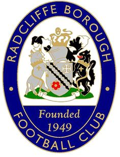 Radcliffe Borough F.C. ~ 1949 _______________________________ Belvior Stadium ~ Manchester ~ England