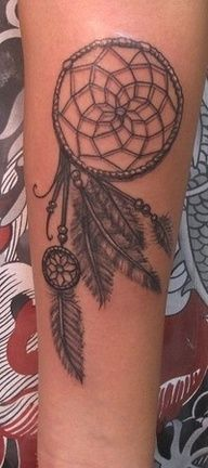SEE MORE BEAUTIFUL DETAILED DREAM CATCHER TATTOO ON HAND