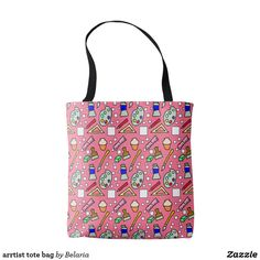 Our Pink tote bags are great for carrying around your school & office work, or other shopping purchases. Pink Tote Bags, Reusable Tote Bags, Ted