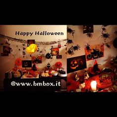Happy Halloween @www.bmbox.it #bitemebox #bmbox #halloween #followme #sweettable #party #fun #girls #bambini #feste