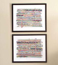 Framed Texture Art
