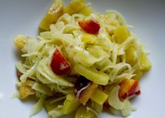 fennel, beet and peach salad from happyolks