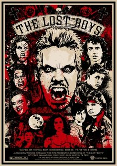 The Lost Boys #Film #Poster #Print