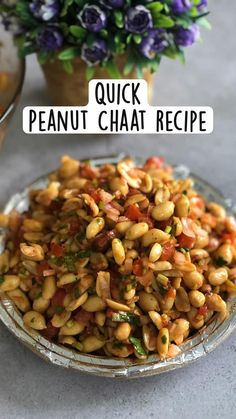 Easy Samosa Recipes, Healthy Indian Recipes, Tasty Vegetarian Recipes, Veggie Recipes, Peanut Chaat Recipe, Easy Cooking, Cooking Recipes, Appetisers, Curries