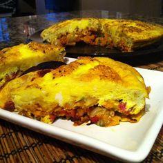 Paleo Sweet Potato + Turkey Frittata (Whole30 Friendly)