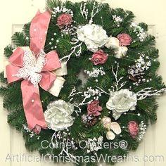 Victorian Christmas Wreaths | VICTORIAN CHRISTMAS WREATH | ArtificialChristmasWreaths.com ...