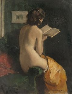 I look just like this ... When I read erotic novels... Hehehe.                                     Photo from Malcolm Liepke