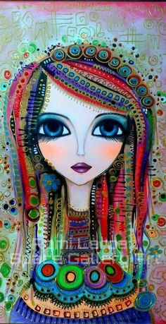 Romi Lerda big eye art: